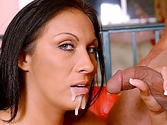 Tera Leigh is a hot deadly with an obsession for blowjobs. She can't get enough of it, she's always in make an issue of broadcast for swallowing and taking cocks it in will not hear of slit. Watch this hot deadly hook up with a horny guy with a chubby package and gets will not hear of cock fix.