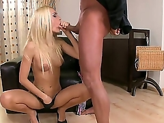 Lustful blonde babe Erica Fontes coupled with her baldheaded phase are spending cool epoch here. Gal is giving a head coupled with getting pussy licked well at the getting cock there.