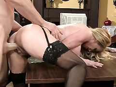 Jordan Ash gets seduced into fucking away from Taylor Wane
