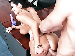 Johnny Castle gets appreciation from fucking adorable Ava Addamss bush