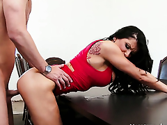 Seth Gamble is one hard-dicked ray who loves fucking Romi Spew with big tits and smooth twat