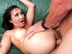 Her wet Latina pussy has been waiting patiently for his niminy-piminy tool